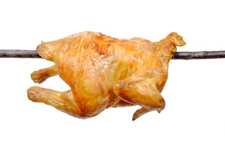 Fried chicken on a skewer Stock Photo - 10413991