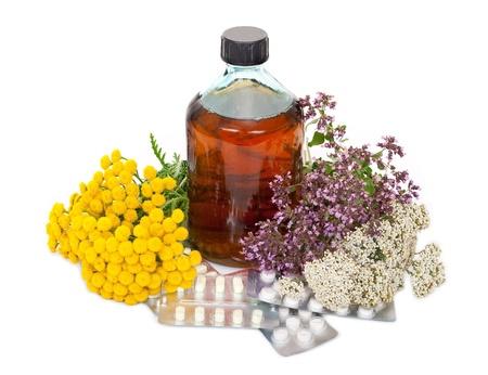 milfoil: Herbal medicine  Stock Photo