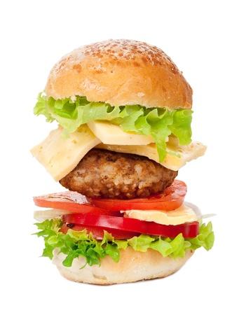 Big hamburger Stock Photo - 10477621