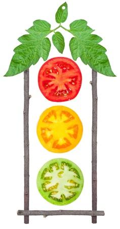 tomate de arbol: Semáforos