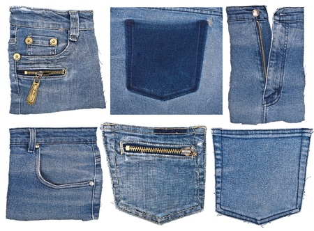 Part of jeans Stock Photo - 10676435