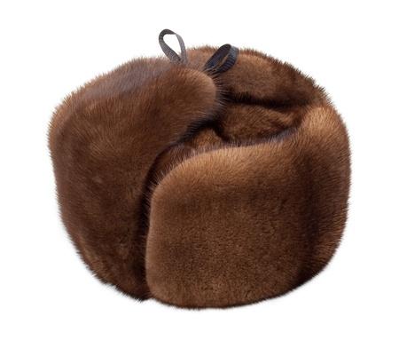 mink: Mink cappello Archivio Fotografico