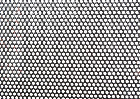 Old metal grid photo