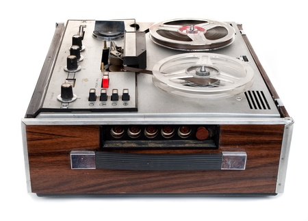 grabadora: Grabadora de cinta de audio retro