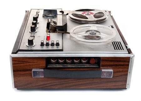 Retro audio tape recorder
