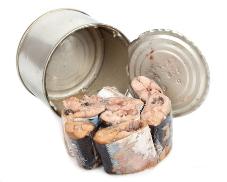 tinned: Canned fish