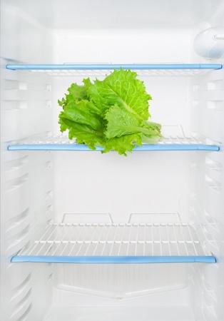 Lettuce in the refrigerator Stock Photo - 15127119