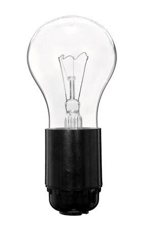 enchufe de luz: La bombilla en el zócalo