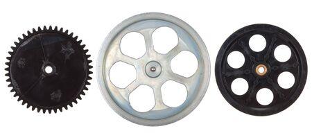 pulleys: Poleas, engranajes