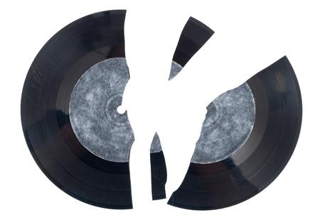 record: Broken vinyl