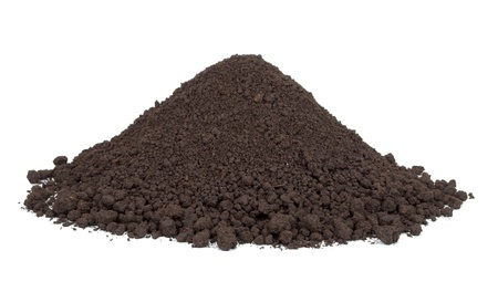 Pile of soil photo