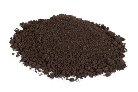 mulch: Pile of soil