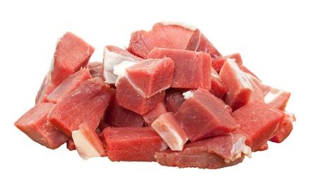 mutton: Lamb sliced