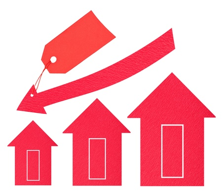 Housing market. Price drop