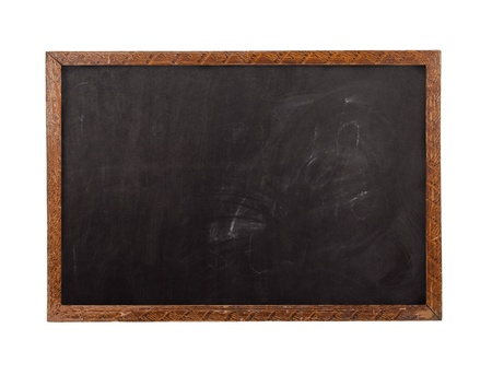 School blackboard  photo