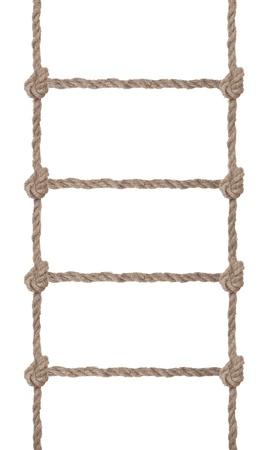rope ladder: Rope ladder Stock Photo