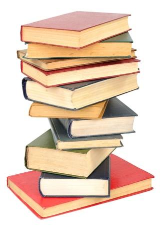sheet pile: Pile of books Stock Photo