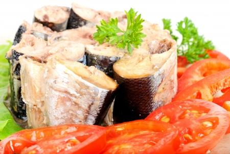 sardinas: Conservas de pescado con verduras
