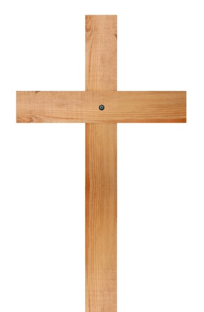 lent: Wooden cross Stock Photo