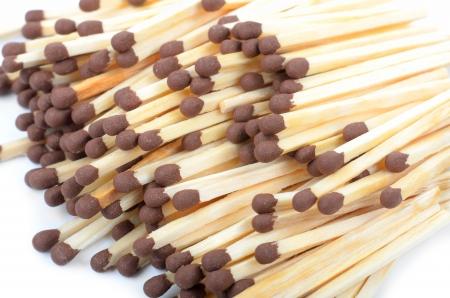matchstick: Group of matchstick. Macro