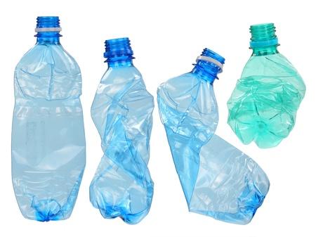 plastico pet: Botellas de plástico usados