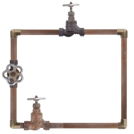 water conservation: Frame from water pipes