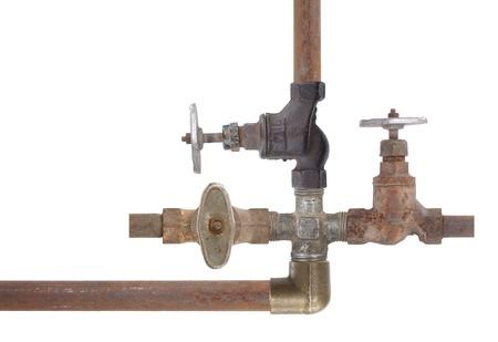 waterspout: Old plumbing