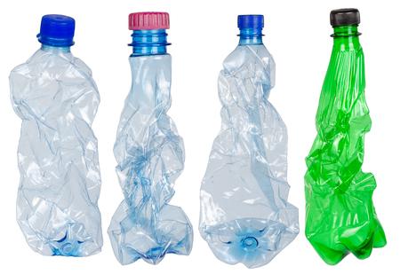 Used plastic bottles photo