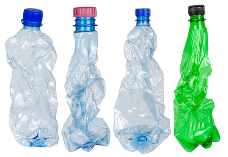 Used plastic bottles