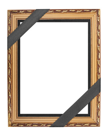 Funeral frame photo
