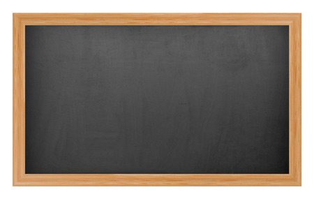 School chalkboard Stock Photo