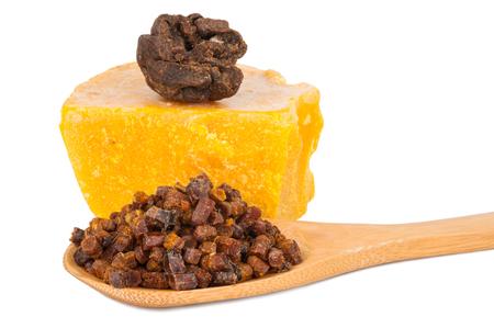 꿀벌 꽃가루 프로 폴리스 왁스 스톡 콘텐츠