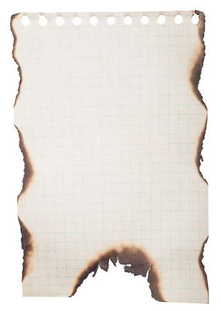 burnt: Burnt paper