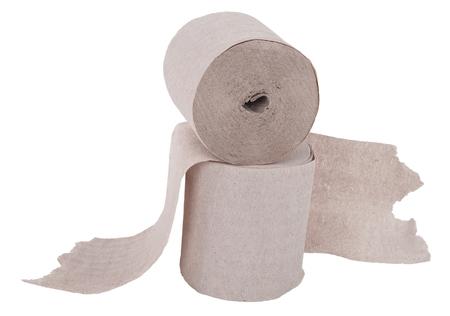 toilet roll: Rolls of  toilet paper