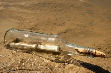 message in bottle: Message in a bottle