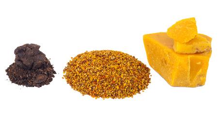 ambrosia: Bee pollen and propolis wax