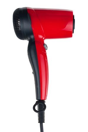hairdryer: Red hairdryer