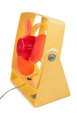 orificio nasal: Antiguo ventilador Foto de archivo