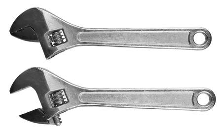 adjustable: Adjustable wrenches Stock Photo