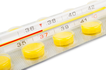 drowsiness: Thermometer and tablets