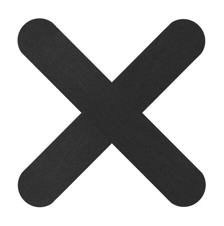 black: Black cross