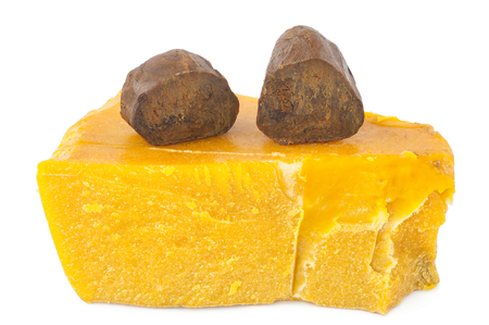 raw gold: Propolis and beeswax