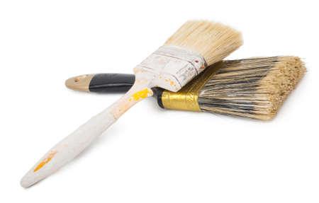 paintbrushes: House paintbrushes