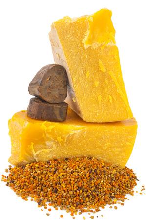 propolis: Bee pollen and propolis wax