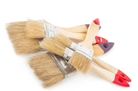 paint tool: House paintbrushes