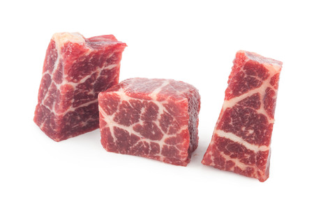 microelements: Raw beef meat Stock Photo