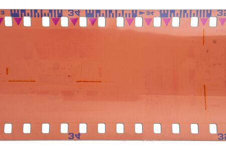 old film: Old film strip
