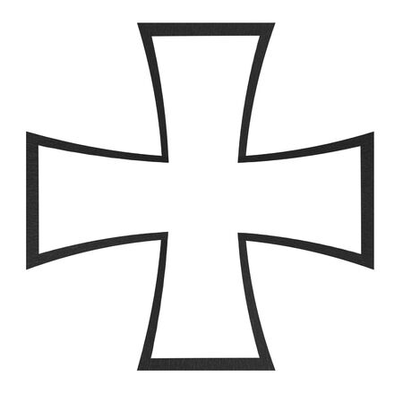 teutonic: Black cross