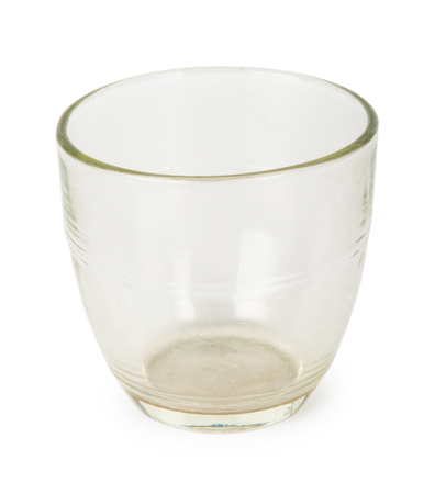 vaso vacio: empty glass