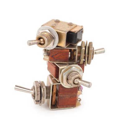toggle switch: Old switches